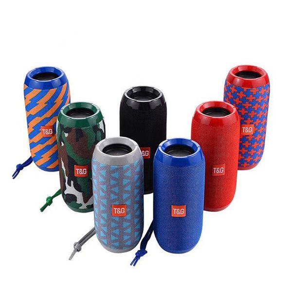 Portable Speaker Waterproof Bluetooth Speaker Outdoor Bicycle Subwoofer Bass Wireless Speakers Mini Column Box Loudspeaker FM TF