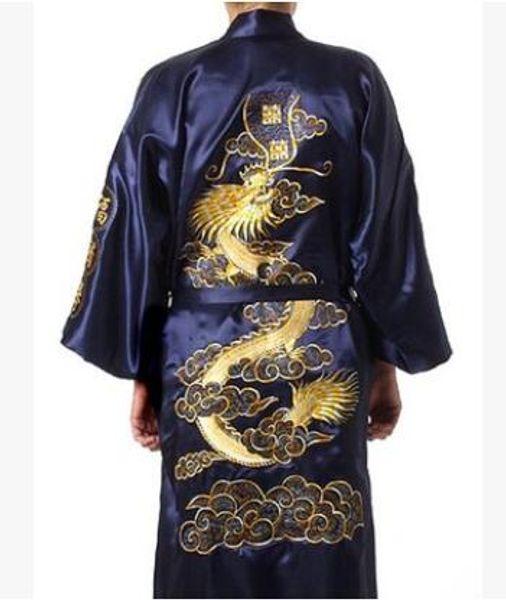 34515ce00a 2019 Korean Style Man Casual Summer Satin Print Pajamas Robe Male ...