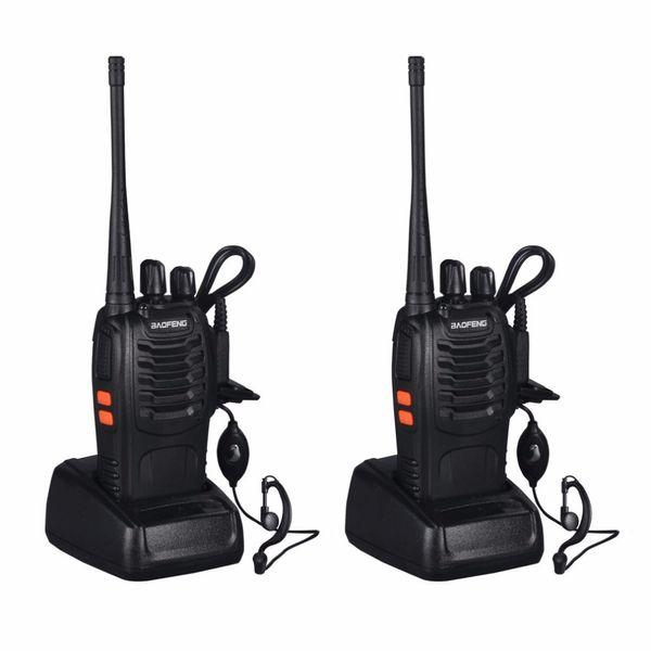 Baofeng BF-888S Walkie Talkie 5W Handheld Two Way Radio bf 888s UHF 400-470MHz Frequency Portable CB Radio Communicator