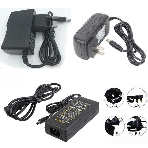 Fonte de alimentação de comutação LED 110-240 V AC DC 12 V 2A 3A 4A 5A 6A 7A 8A 10A Levou luz de Tira 5050 3528 transformador adaptador