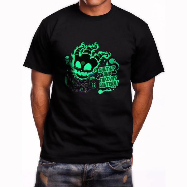 Thresh League Of Legends Online Video Game Short Sleeve Black T-Shirt S-5XL Gift Print T-shirt Hip Hop Tee T Shirt NEW ARRIVAL