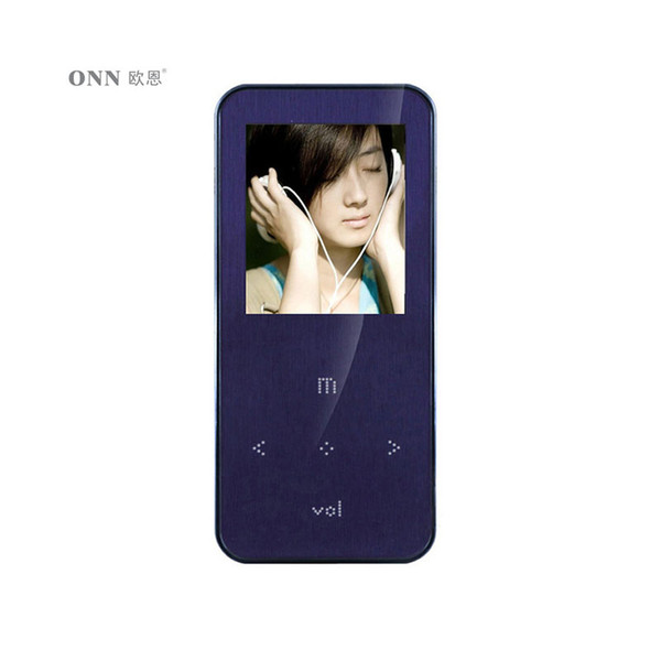2017 ONN Q9 Walkman 4GB MP3 Music Player 1.8 inch Purple with TFT Screen Support FM Radio  Recording Sport Mp3 New Arrival