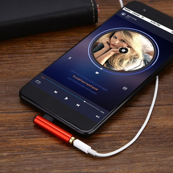 Multifunctional USB Type C 3.5mm Audio earphone Jack Type-c 2 in 1 Adapter Jack for type-c Mobile Audio Data Line Headphone Jack 300pcs Dhl