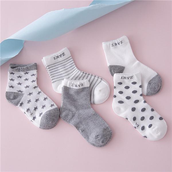 Bébé, Maternité des enfants belles Explosions des quatre saisons dot des chaussettes en coton respirant confortables et confortables