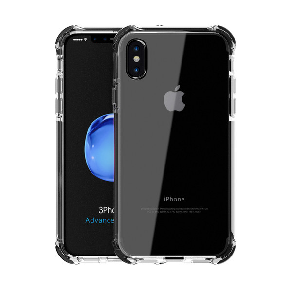 Ultrathin Clear Phone Case cover for iphone x Anti Scratch Luxury Dirt Proof Shockproof Mobile Phone Shell for Apple iphone x