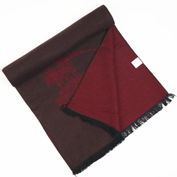 Designer de moda de luxo Signage B Caxemira Borla Cachecol Xale Cobertor 180 * 30 cm de Alta Qualidade Macio Conforto Presente de Natal 3 Cores Opcionais