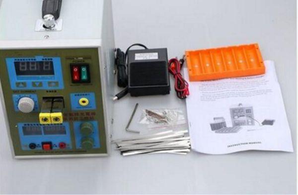 Светодиодный прожектор импульс батареи сварочный аппарат 788H сварочный аппарат микро-компьютер 18650 Зарядное устройство 800 а 0.1 - 0.2 мм 36 В С светом Сид