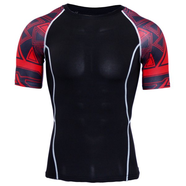 Camisa para correr Hombre Rashgard Camiseta de fútbol de compresión ajustada Camiseta de entrenamiento para gimnasio de secado rápido para hombres Camiseta de entrenamiento de baloncesto para hombres