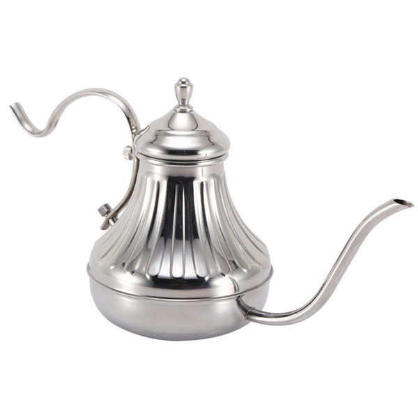 Kaffee Teekanne 420ml Handtropfkessel Übergießen Kaffee Teekanne Edelstahl Handtropfkaffeekessel Heißer Verkauf
