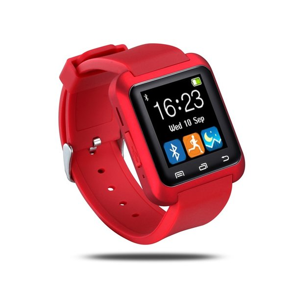 Reloj inteligente U8 Bluetooth Reloj de pulsera Sport Podómetro Mensajero push SMS Sincronización Recordatorio de llamada Cámara remota Calendario anti-pérdida Monitor para dormir