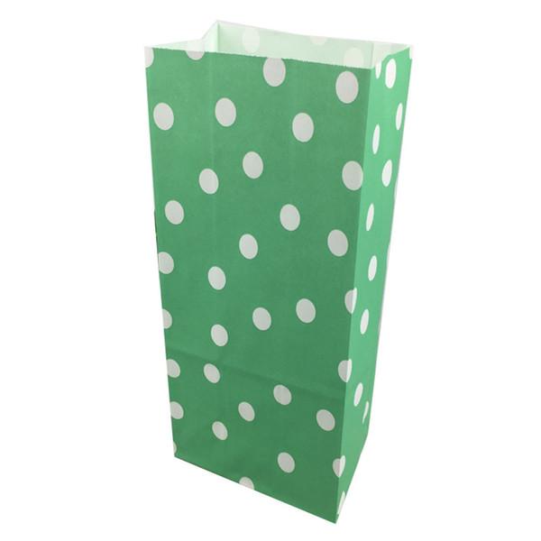 05 Green Polka Dot