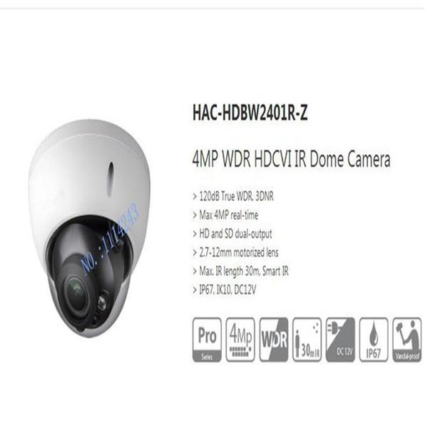 Dahua HAC-HDBW2401R-Z 4MP WDR HDCVI IR 30M IP67 IK10 Dome Camera 2.7-12mm Lens