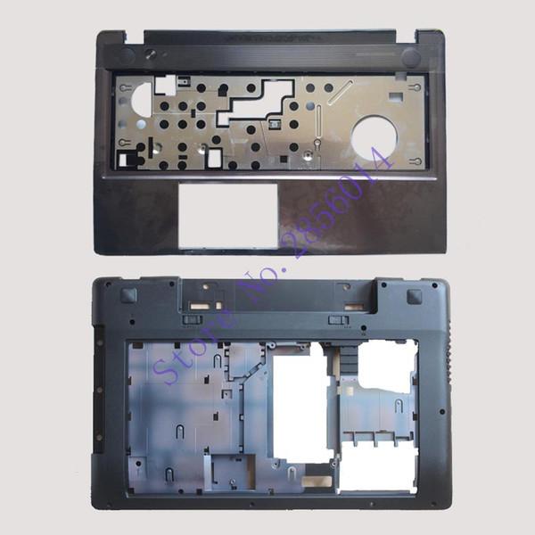 New !!! Case Cover For Lenovo Z580 Laptop Series bottom case Z585 Base Bottom/ Palmrest COVER