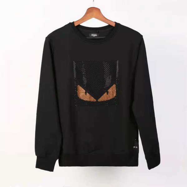 Men's brand fashion letter embroidery sweater winter men's clothing round neck long-sleeved sweater men's designer hoodie new listing