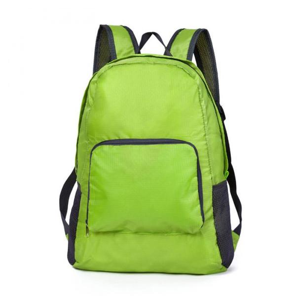 Women Men Backpack Riding Back Pack Bag Ultra Light Folding Waterproof Travel Nylon Bags 3pcs/lot