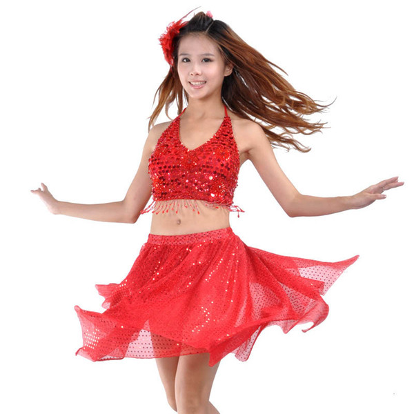 Lady belly dance set dresses bellydance skirt suit indian bollywood dancers dance costumes women adults