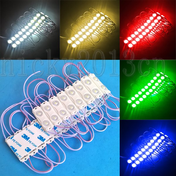 Super Bright 12V 2835 LED Module Light Strip Lamp Tape 2LEDs Injection  Molding ABS Cover IP65 Waterproof Aluminum PCB Small Size Sign UK 2019 From