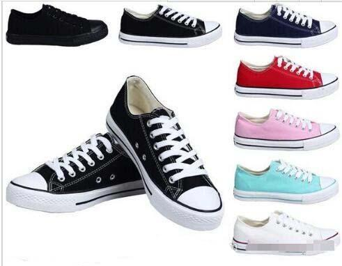 2018 HOT New 15 Color All Size 35-46 sports Classic Canvas Shoe Sneakers Men's/Women's Big Kids Boys and girls Canvas Shoes
