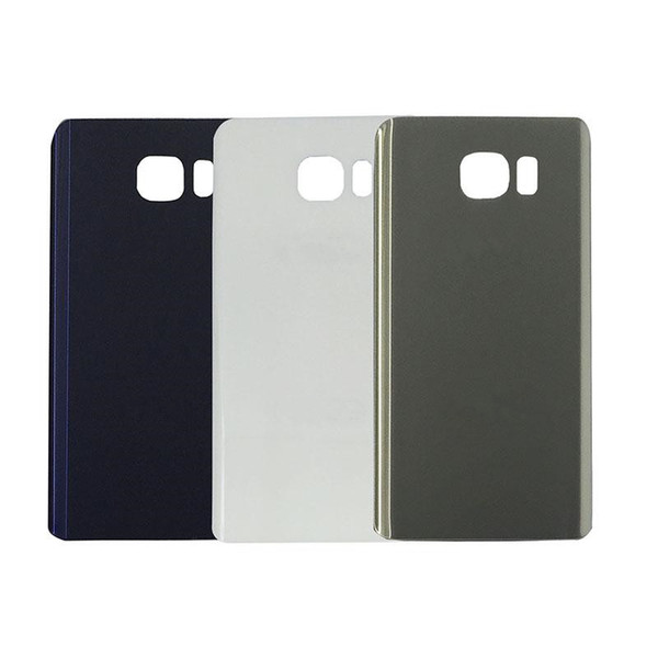 50PCS Original Battery Door Back Housing Cover Glass Cover for Samsung Galaxy Note 5 N920P with Adhesive