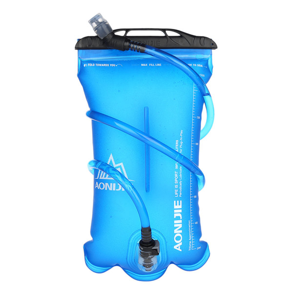 AONIJIE Portable Safe TPU Water Bag 1.5L 2L 3L Outdoor Camping Sports Water Bladder Soft Flask For Hiking Sports Container