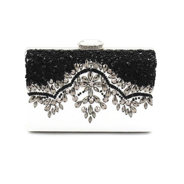 Frauen Luxus Abendtaschen Marke Designer Damen Tageskupplungen Hochzeit Kupplung Geldbörse Handgemachte Perlen Schwestern Party Handtaschen