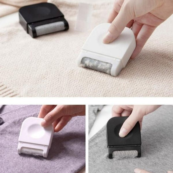 new arrival 1pc Mini Size Handheld Lint Clothes Sweater Shaver Fluff Fuzz Fabrics Portable Remover Pill Handheld Dust Lint Remover