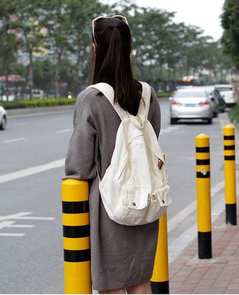 холст сумка ведро Сумка путешествия большая емкость ретро досуг компьютер рюкзак