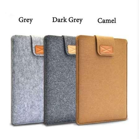 8 10 11 13 15inch Soft Sleeve Bag Case for iPad 2 3 4 Notebook Case for iPad 9.7 Pure Felt for Macbook air/pro/Retina