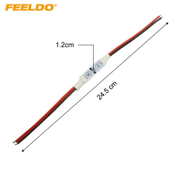 FEELDO Car New DC5V~24V LED Flasher Module Flash Strobe Controller For Warning LED Brake/Stop Light Daytime Lamp #947