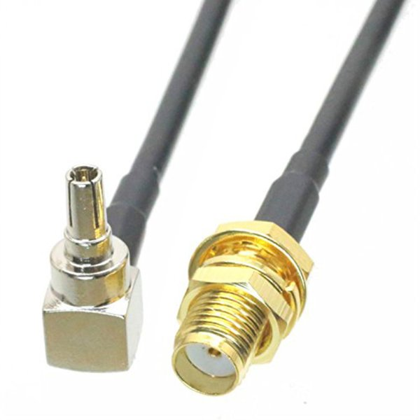 RF SMA Female To CRC9 Pigtail Cable SMA Female Bulkhead Switch CRC9 Male Right Angle RG174/RG316/RG316D Cable for HUAWEI 3G/4G