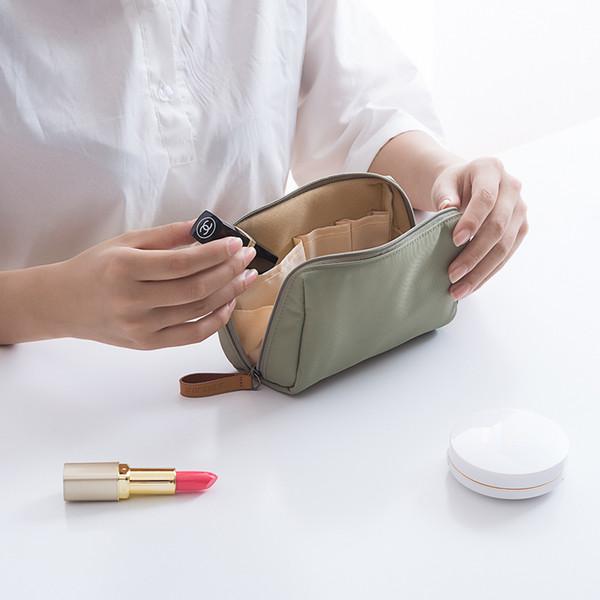 Toptan Kadınlar Güzellik Durumda Su Geçirmez Kozmetik Çantaları MINI Çanta Taşınabilir Makyaj Çantası Hafif Küçük Seyahat Organizatör