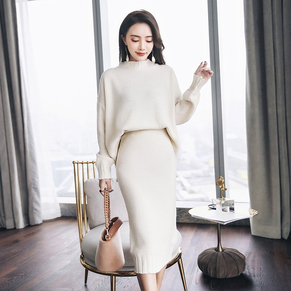 купить оптом 2018 новых женщин теплые кашемировые свитера вязание