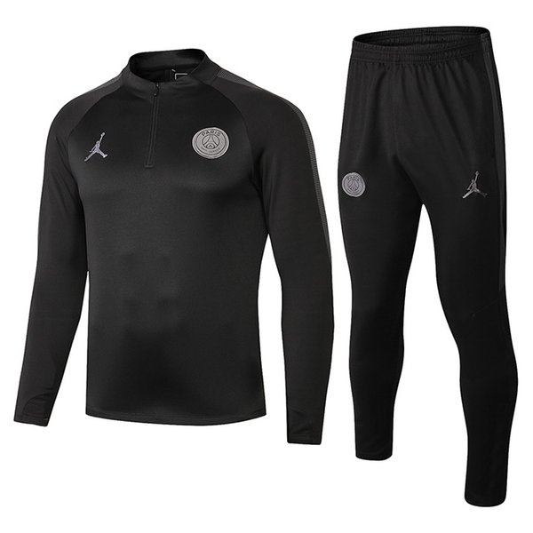 Yeni 2018 psg Eğitim takım 2018 2019 Psg futbol Eşofman Setleri paris saint germain ceket MBAPPE juventus gerçek madrid jersey 18 19 koşu