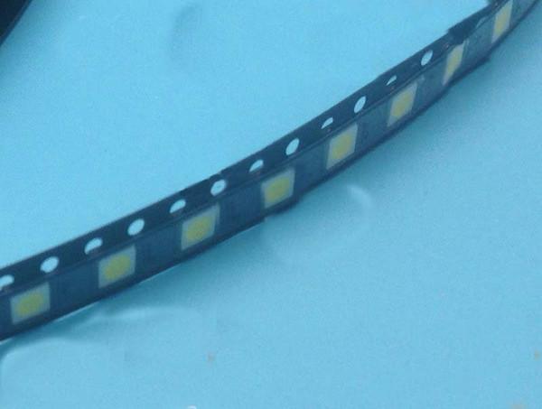 20 PCS / lot led 1 W 3 V TV rétro-éclairage bandes avec diode électroluminescente 3535 SMD LED perles