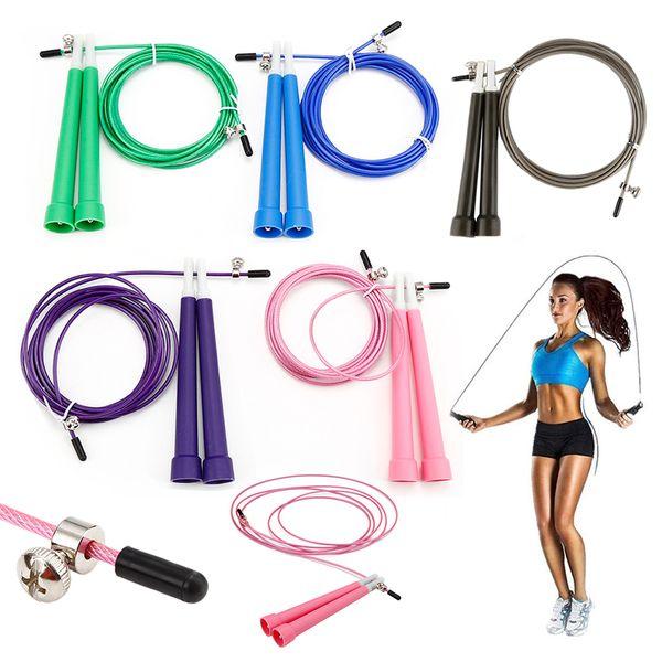 NOUVEAU câble en acier saut à sauter saut réglable corde Crossfit Fitness Equimpment exercice entraînement 3 mètres