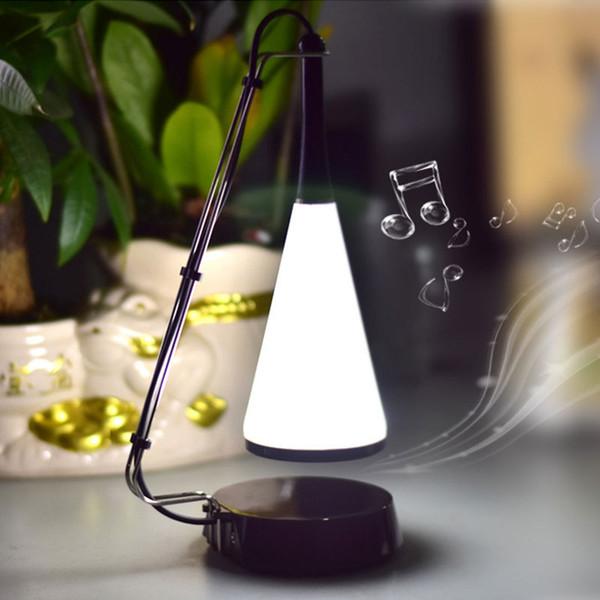 Hot Sale Music desk lamp LED touch lamp bedside sound charging USB Bluetooth speaker lights