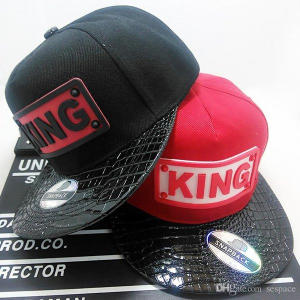 902349ce460 Wholesale- 2016 new Brand new hot sale KING baseball cap hats hip hop QUEEN  letter