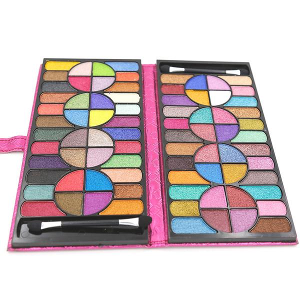 Lidschatten-Palette Make-up Kosmetik Set 1 Stück 80 Farben Make-up Kit Lidschatten Make-up Gz0037