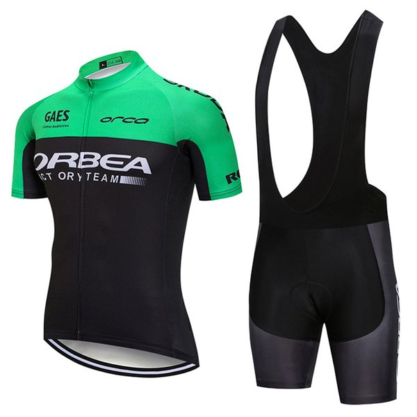2018 ORBEA Cycling Jersey bib shorts suit Mtb Bicycle Clothing Tour de france racing Bike Wear Clothes Ropa De Ciclismo Hombre 100401Y