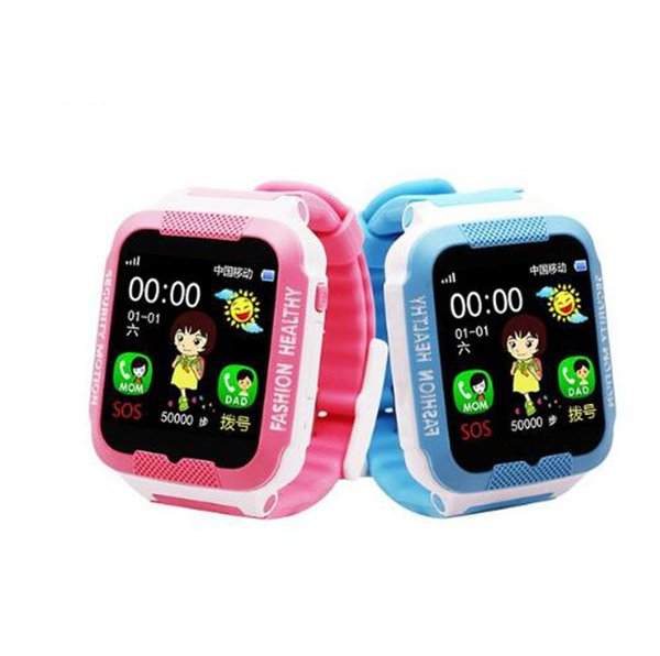 2018 HOT C3 Child Smartwatch IP67 Swim waterproof Phone smart watch SOS Call Location Device Tracker Kids Safe Anti-Lost Monitor