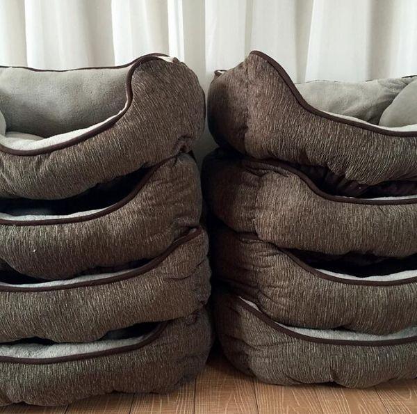 Velvet Warm Dog Mat Cat Sofa Pet Bed Sleep Warm Teddy Cat Puppy Soft House Fall Winter Nest Kennel Drop shipping