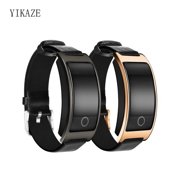 YIKAZE CK11S Fitness Tracker pulsera inteligente con monitor de ritmo cardíaco dinámico Deep / Light Sleep Tracking pulsera impermeable IP67