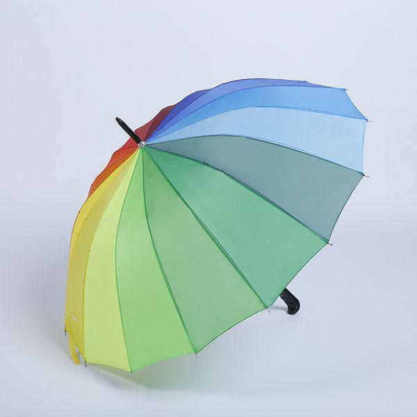 3577f38bb536 2018 16k Rainbow Umbrella Explosion Creative Outdoor Couple Gift Umbrella  Sun Protection Advertising Umbrella Custom Logol And Colors From ...