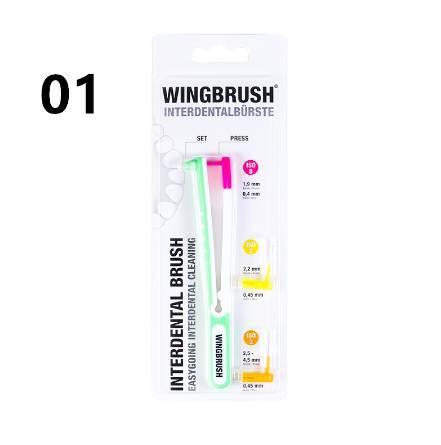 Shopify Dropshipping Hot Sale Interdental Brush Wingbrush The Revolution Of  Interdental Cleaning Interdental Brushes Starter Set Oral Brush Oral