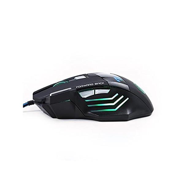 Beste Qualität iMICE X7 Wired Gaming Mouse 7 Tasten 2400DPI LED Optische Kabel Kabel Gamer Computer Mäuse Für PC Laptop