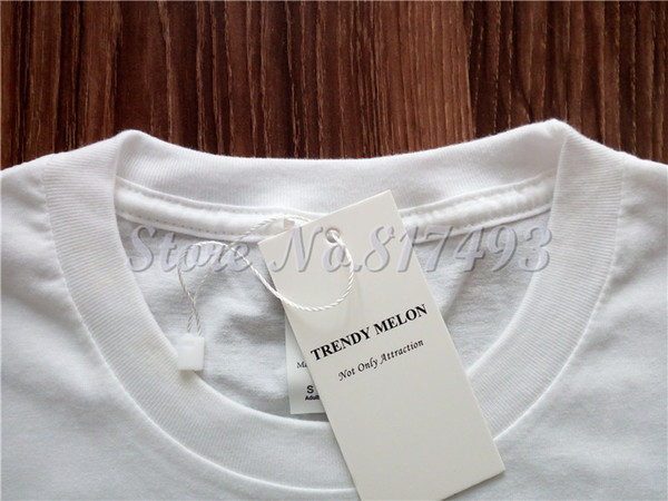 9d905324 Trendy Melon Novelty Printing Men T-shirt Flat Earth In Solar System Funny Cool  Tops White Short Sleeve Tshirt Clothing MAA04