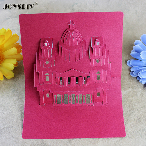 3D Cartoon Castle DIY Scrapbook cutting dies Metal Die cutting Die For DIY Scrapbooking Photo Album Embossing Folder Stencil