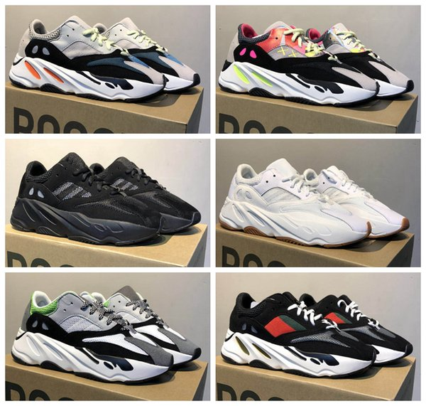 size 40 edbc0 465e9 Adidas Originals Yeezy Wave Runner 700 Kaws Women Men Running Shoes Sport  Fashion Kanye West 700 Trainers Sneaker 3m Reflective Dad Shoes Running ...