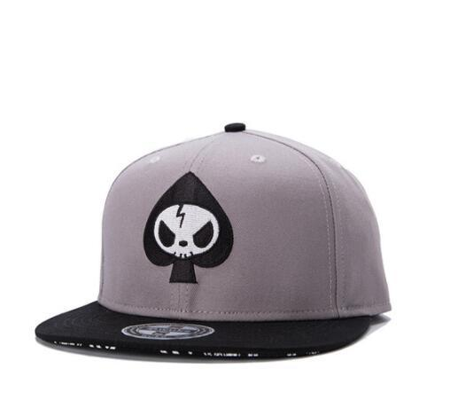 DHL Men Embroidery Baseball hat flat Hat Hip Hop Snapback Cap Skull Embroidery fashion unisex Fitted Hat