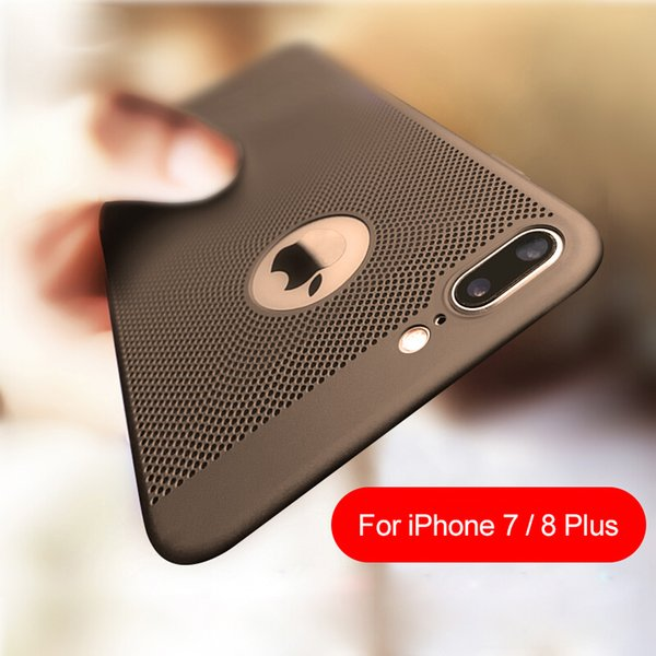 For iPhone X Case for iPhone 8 7 Plus Phone Cases Back Heat Dissipation Hard PC Cover for iPhone 6 6S Plus 5s SE 7 10 5 Cases